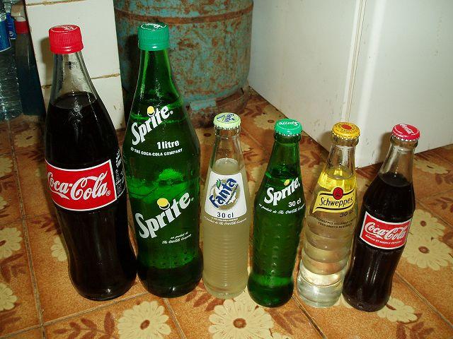 コカコーラ瓶英語