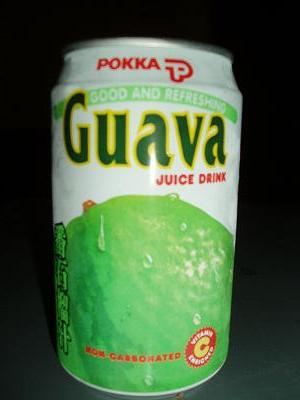 ポッカのグァバジュース